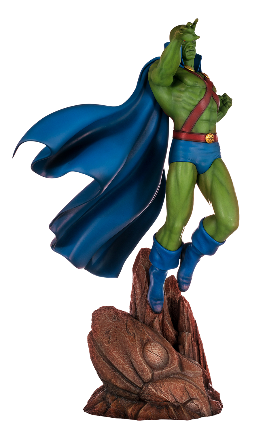DC SUPER POWERS COLL MARTIAN MANHUNTER 18IN MAQUETTE