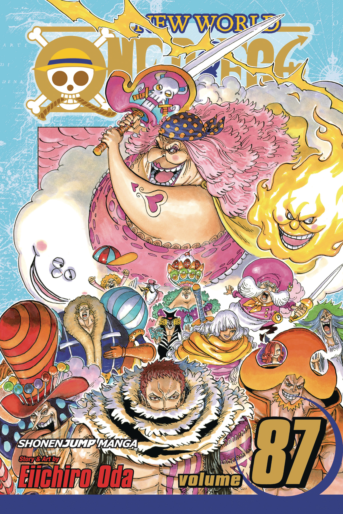 ONE PIECE GN VOL 87