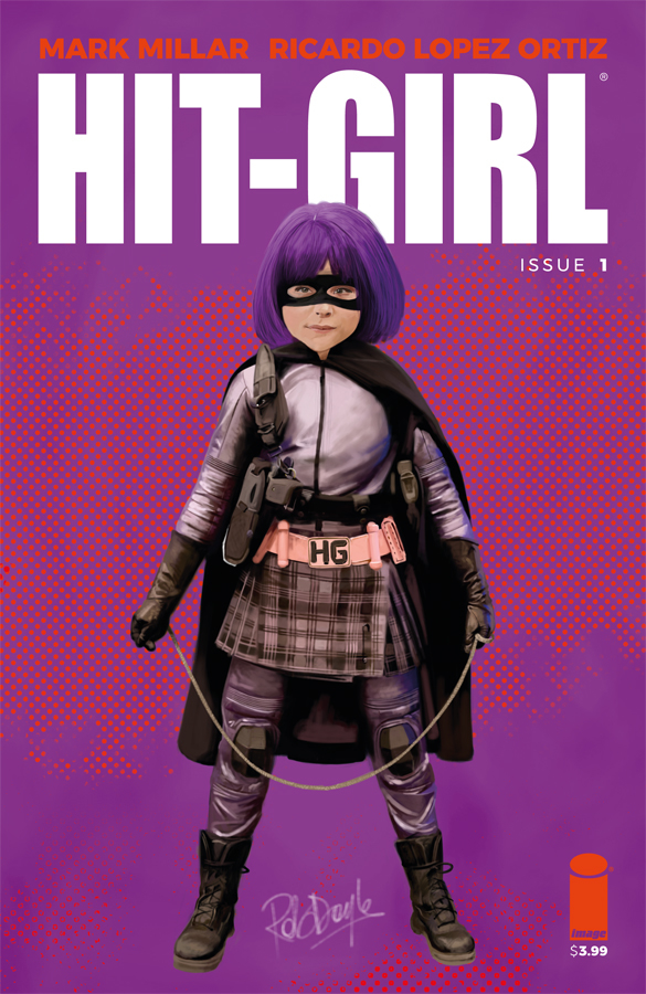 HIT-GIRL #1 CVR F DOYLE (MR)