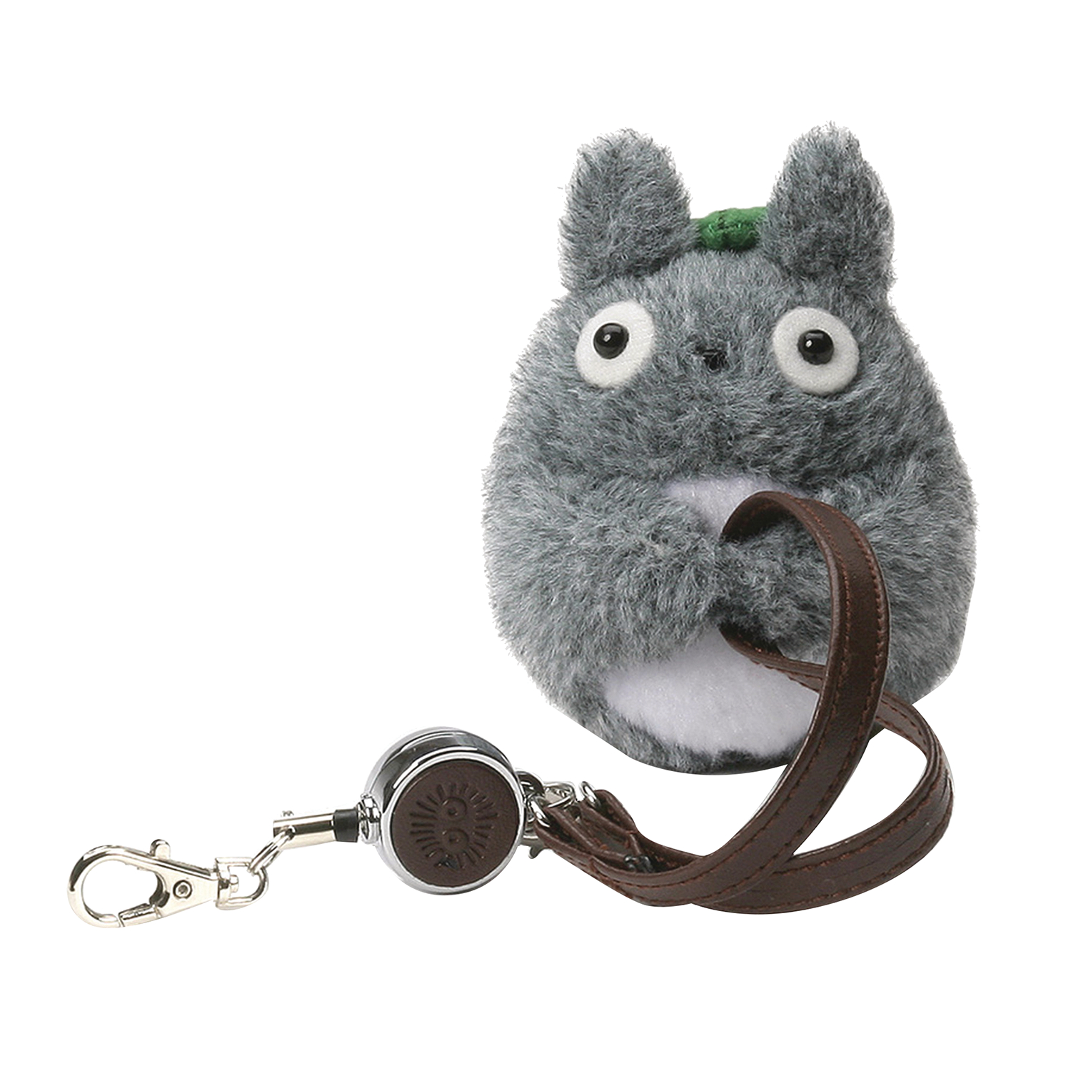 TOTORO KEY HOLDER 3IN PLUSH