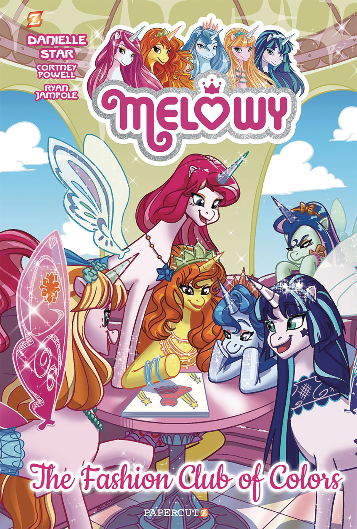 MELOWY HC GN VOL 02 FASHION CLUB OF COLORS