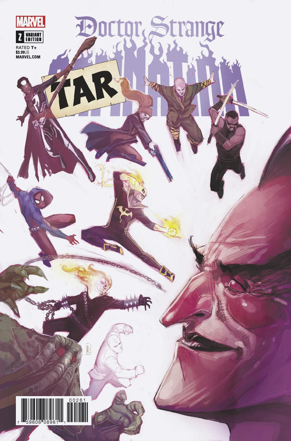 DOCTOR STRANGE DAMNATION #2 (OF 4) TARNATION VAR LEG