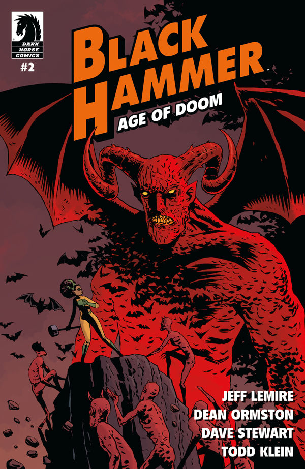 BLACK HAMMER AGE OF DOOM #2 MAIN CVR