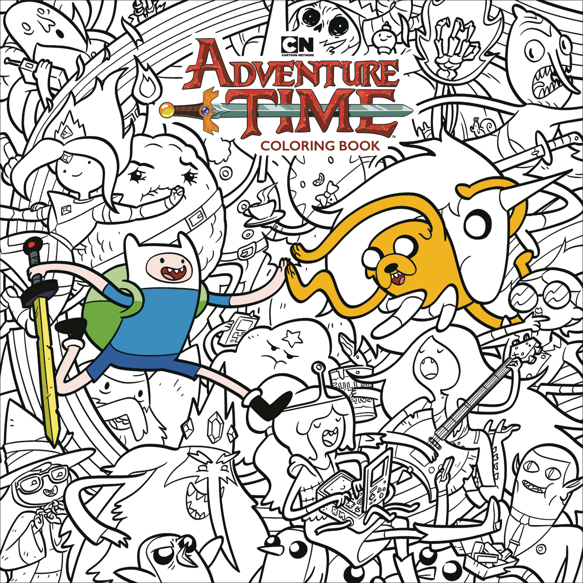 ADVENTURE TIME ADULT COLORING BOOK TP (MAR180070)