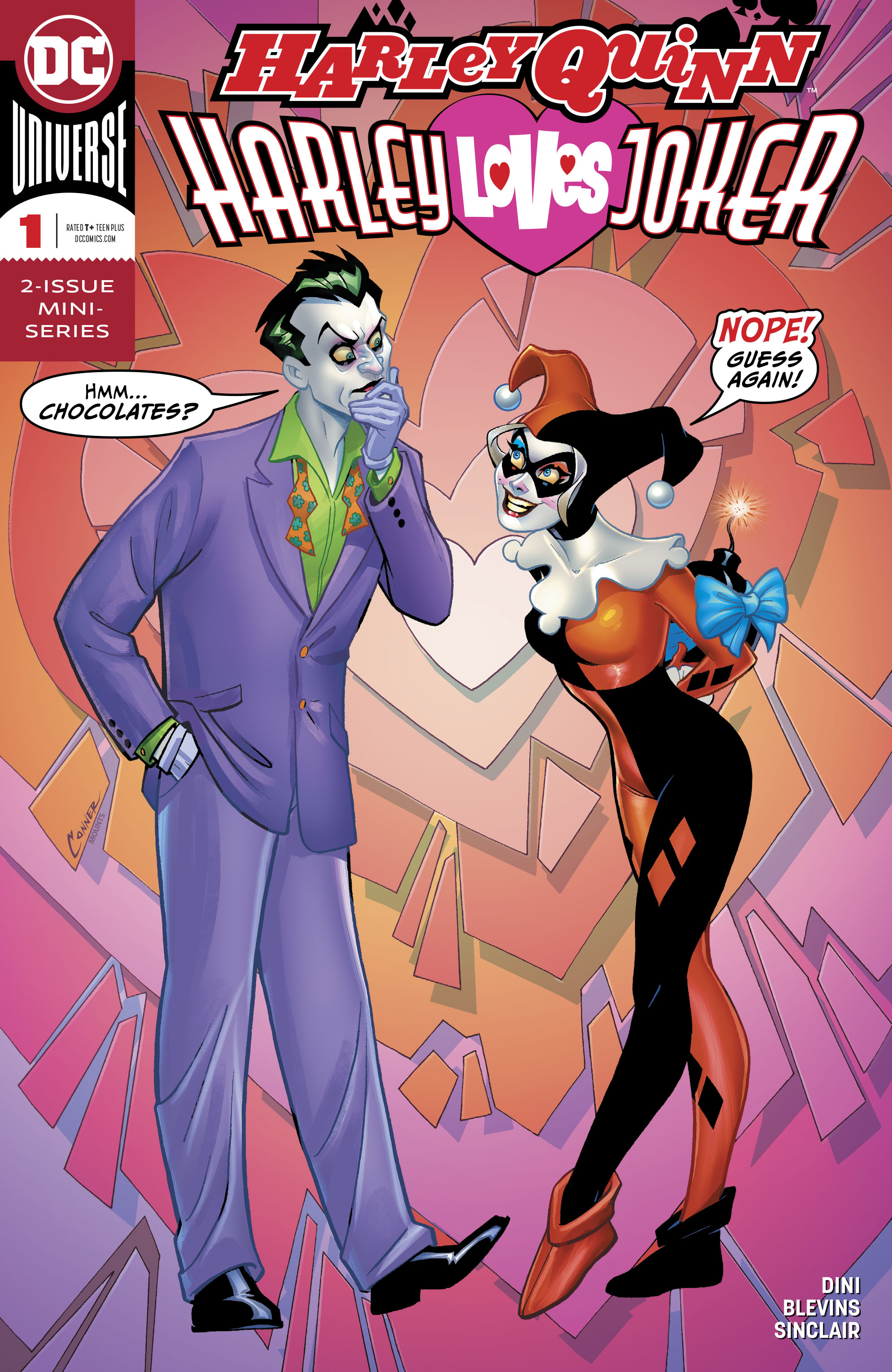 HARLEY LOVES JOKER #1 (OF 2)