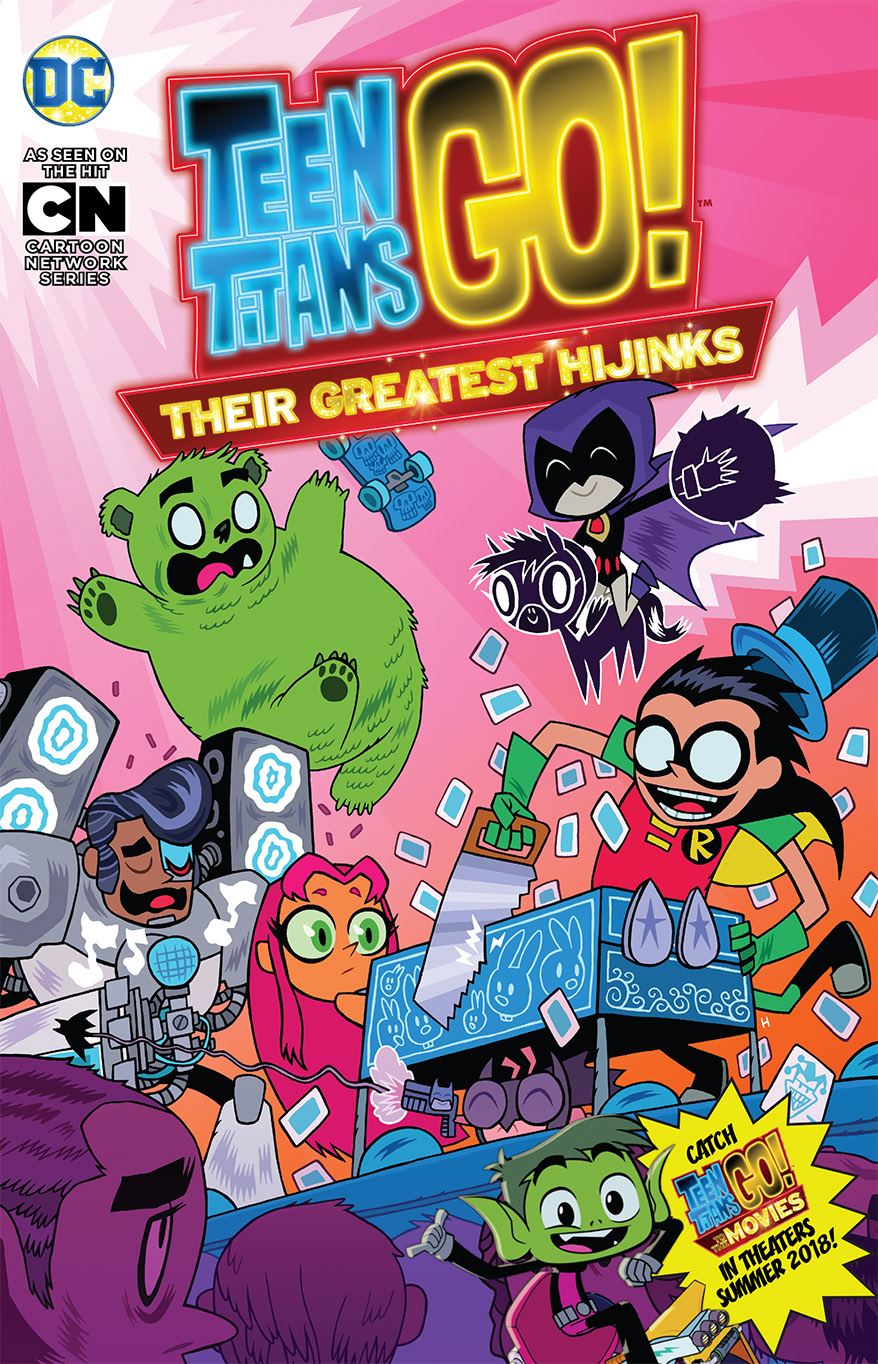 TEEN TITANS GO THEIR GREATEST HIJINKS TP