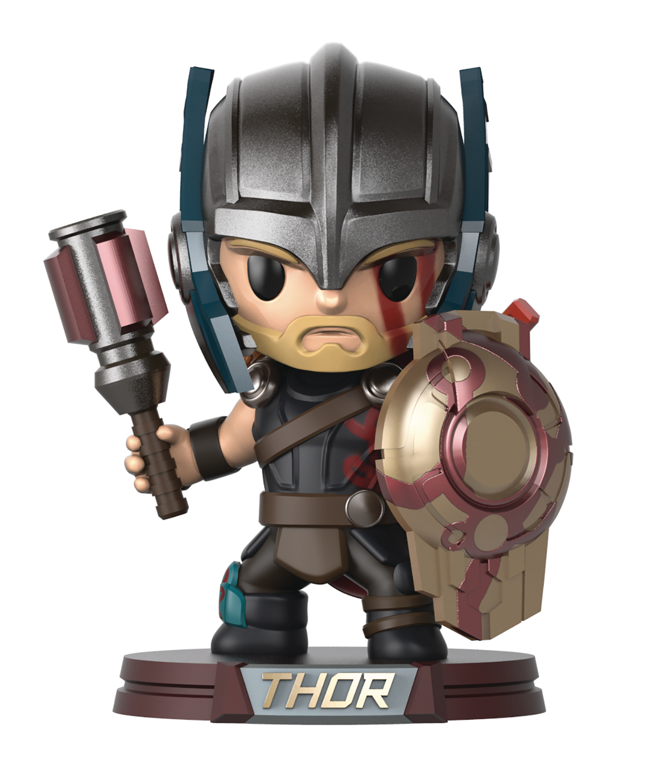 GO BIG MARVEL THOR RAGNAROK THOR 14IN VINYL FIG