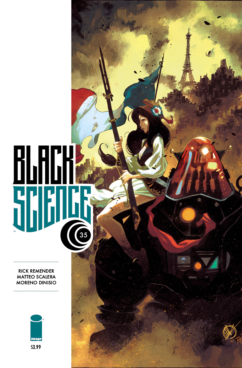 BLACK SCIENCE #35 CVR A SCALERA & DINISIO (MR)