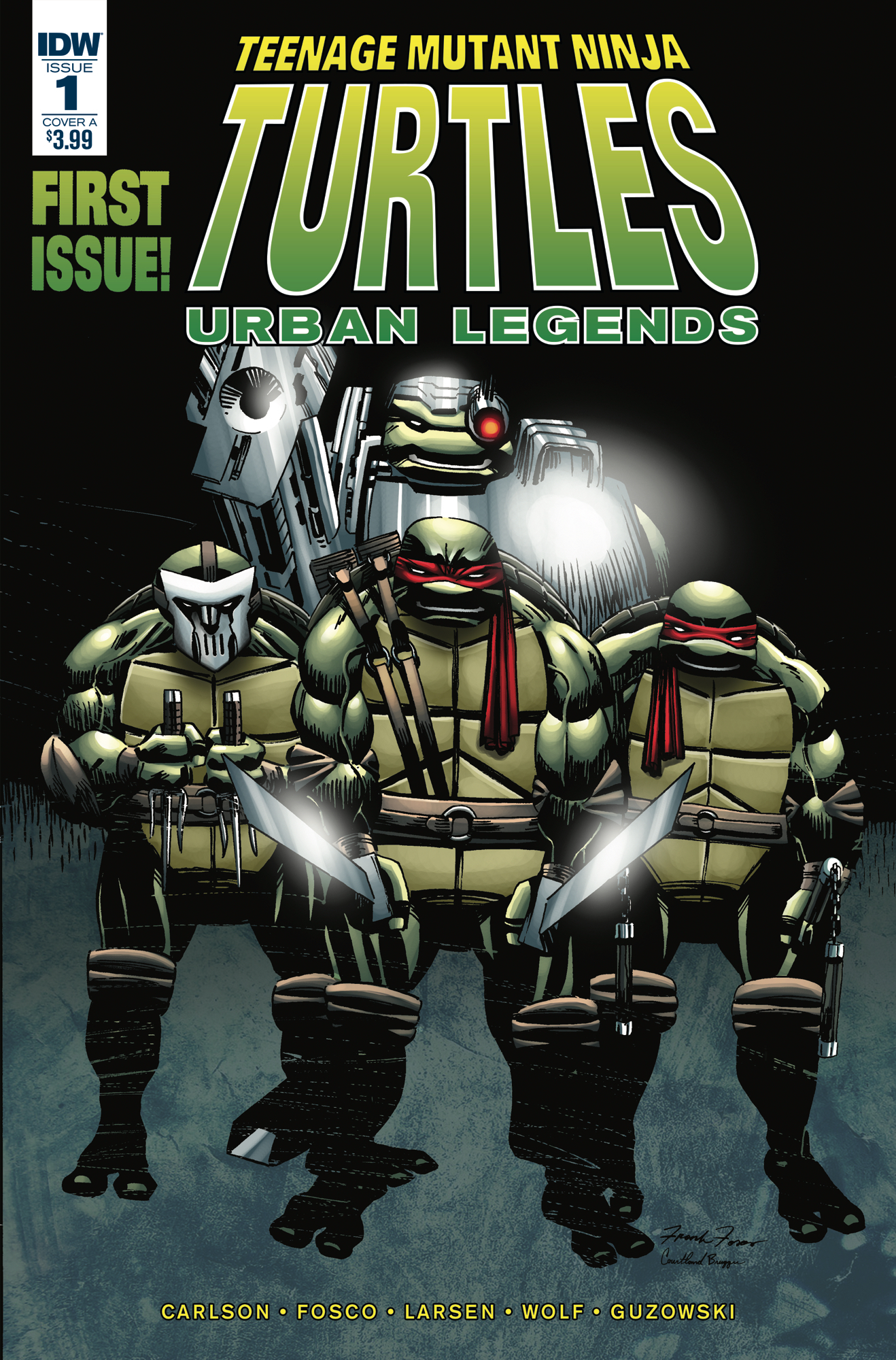 TMNT URBAN LEGENDS #1 CVR A FOSCO