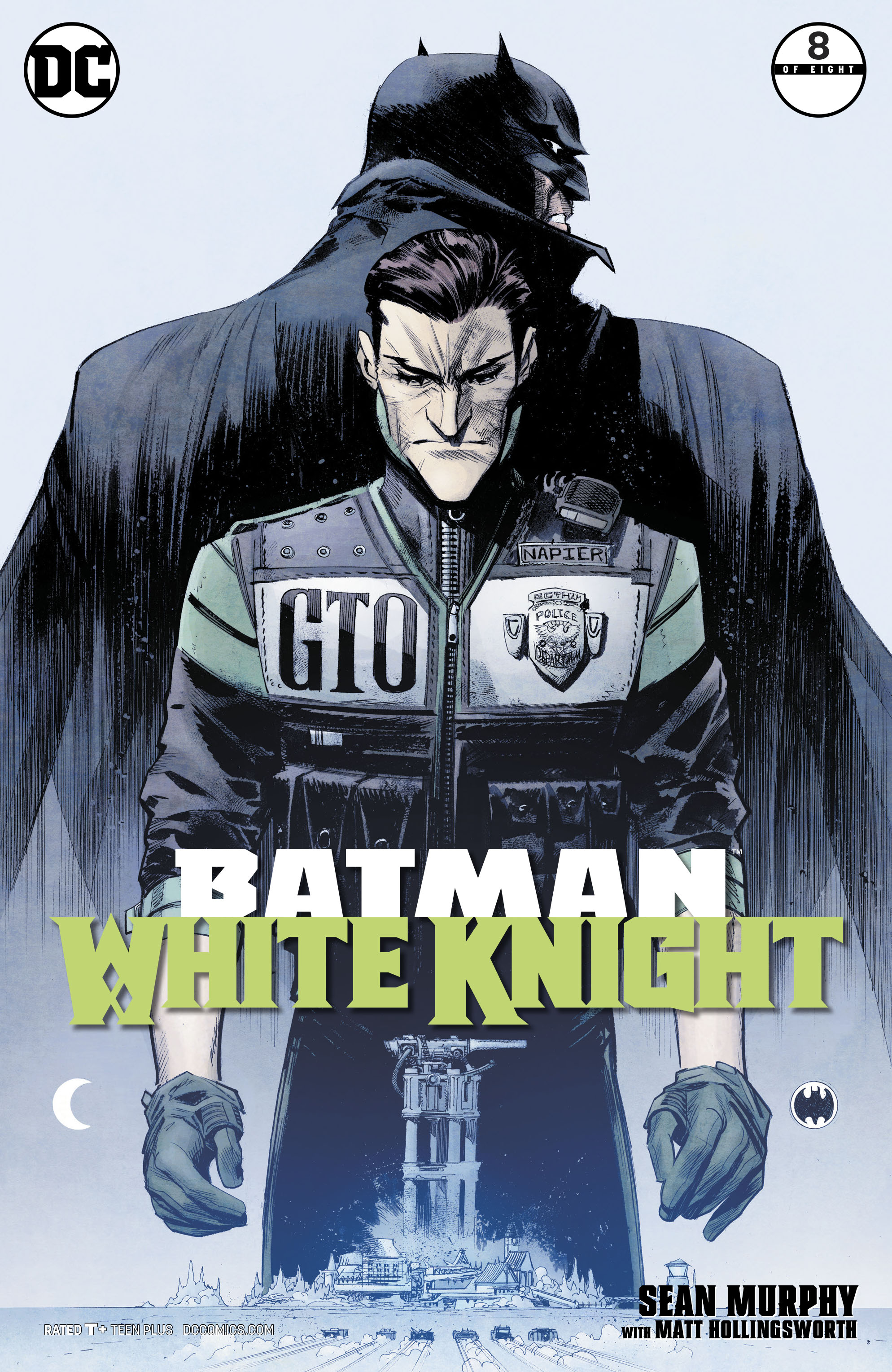 BATMAN WHITE KNIGHT #8 (OF 8)