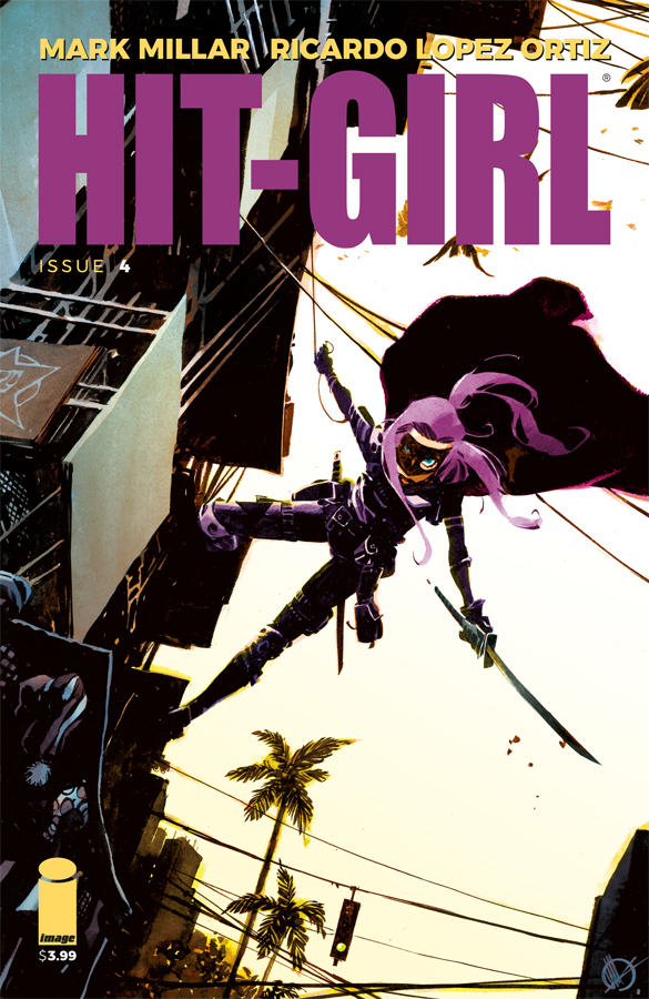 HIT-GIRL #4 CVR C SCALERA (MR)