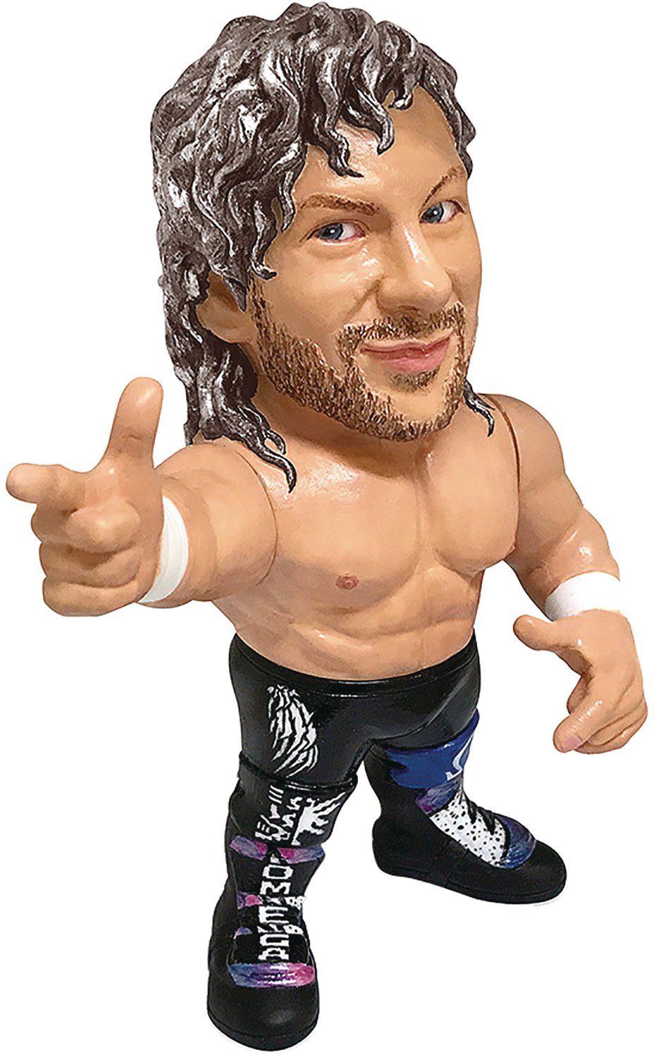 NEW JAPAN PRO-WRESTLING COLLECTION KENNY OMEGA VINYL FIG