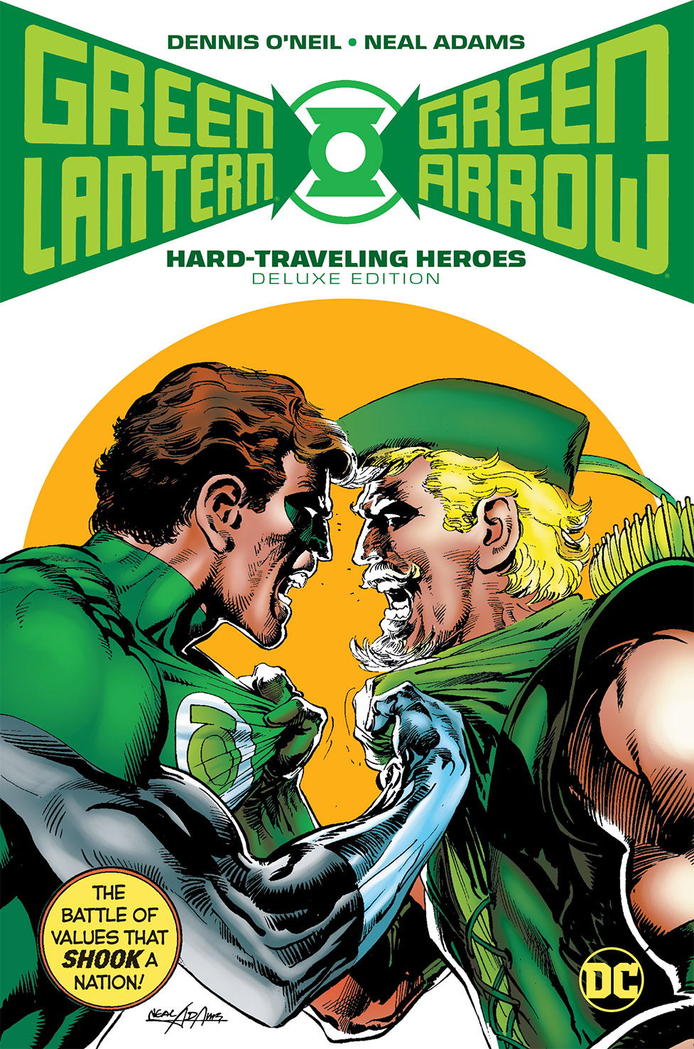 GREEN LANTERN GREEN ARROW HARD TRAVELING HEROES DLX HC (MAR1