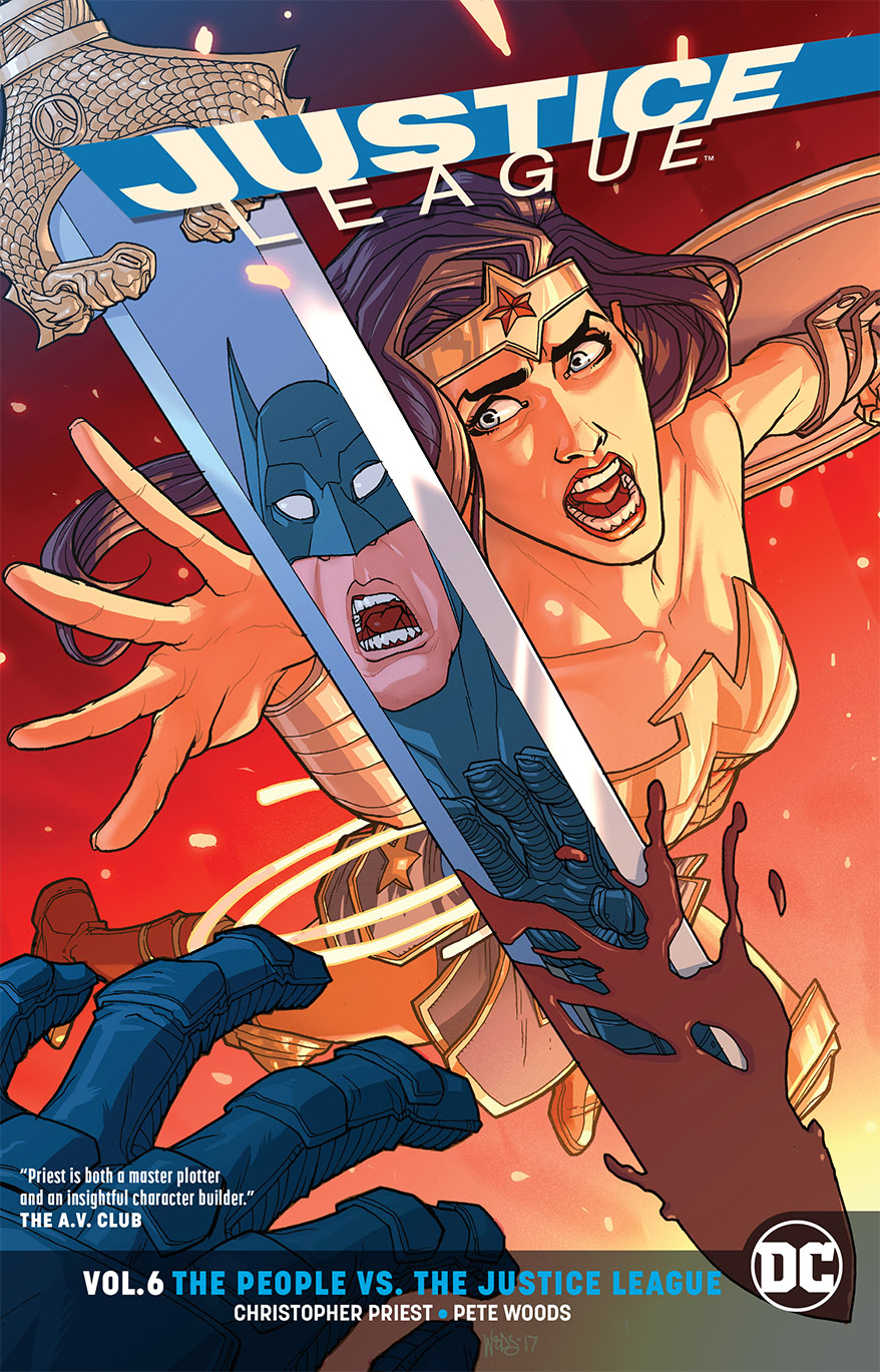 JUSTICE LEAGUE TP VOL 06 PEOPLE VS THE JUSTICE LEAGUE