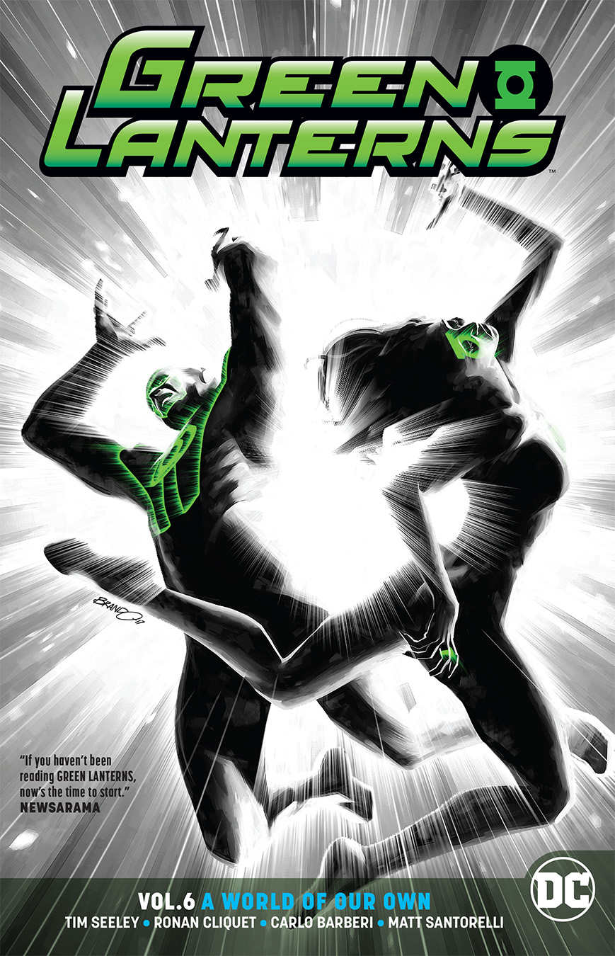 GREEN LANTERNS TP VOL 06 A WORLD OF OUR OWN REBIRTH