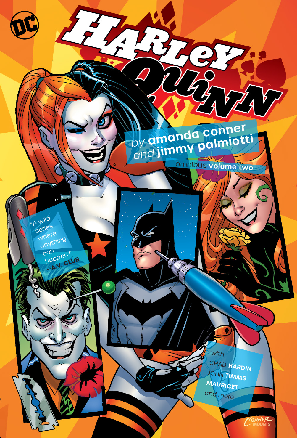 HARLEY QUINN BY CONNER & PALMIOTTI OMNIBUS HC VOL 02