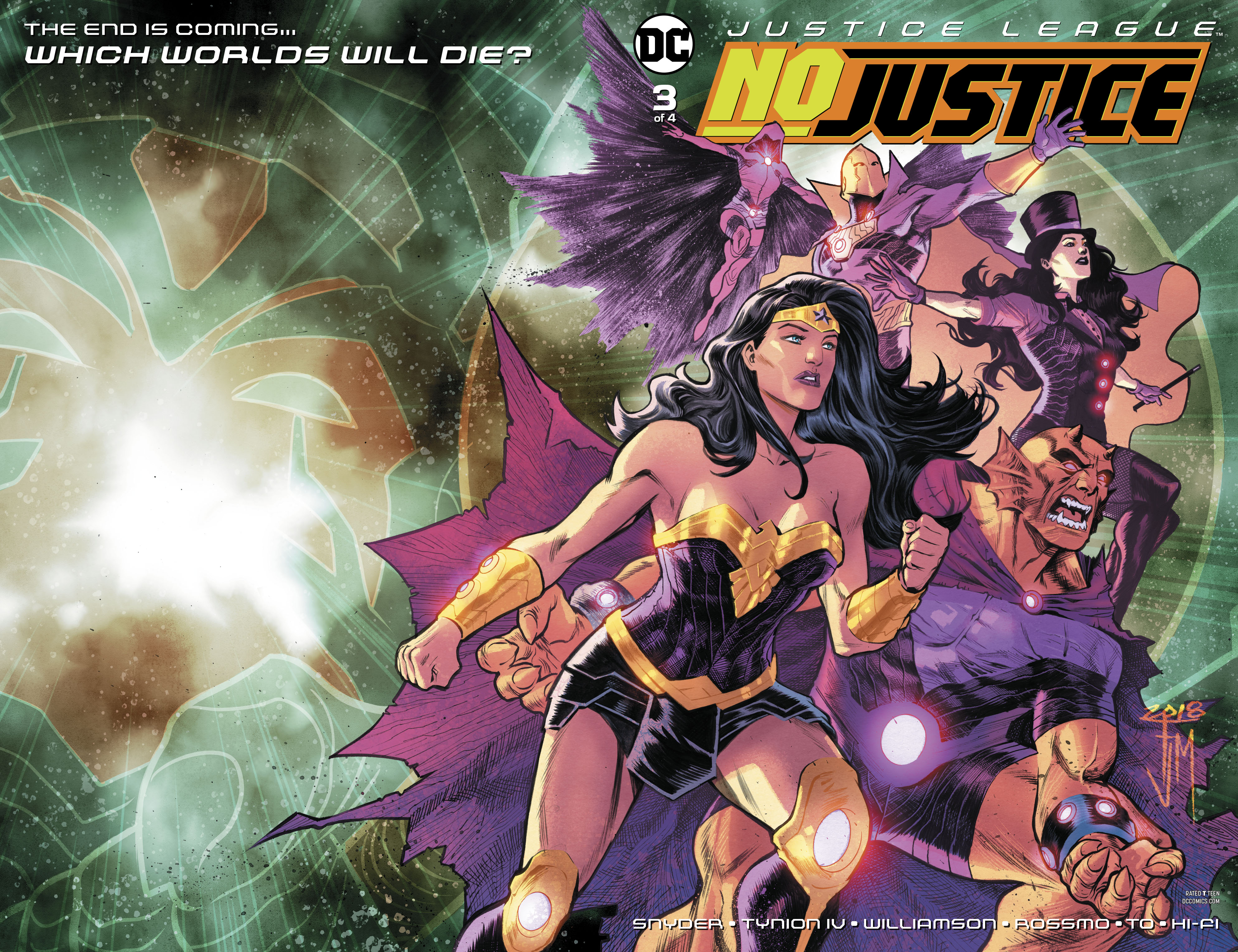 JUSTICE LEAGUE NO JUSTICE #3 (OF 4)