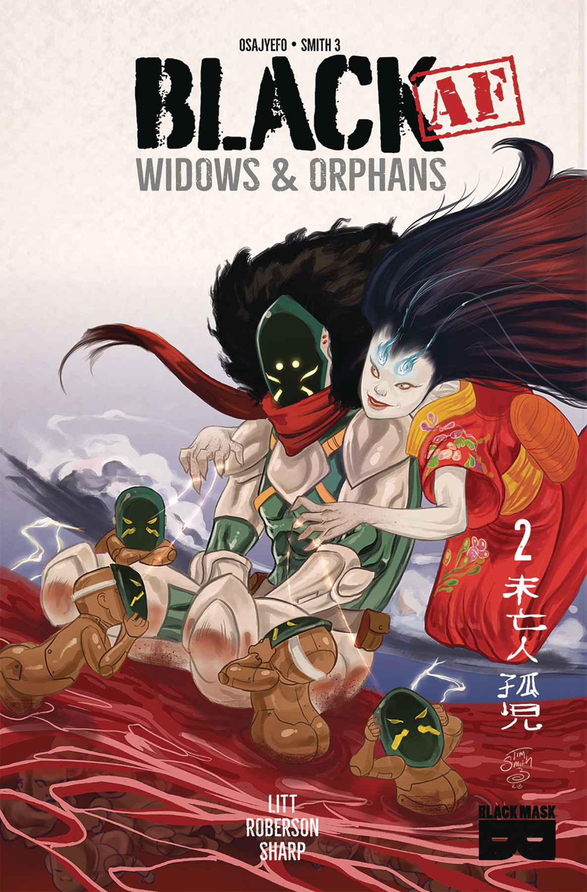 BLACK AF WIDOWS & ORPHANS #2 (MR)