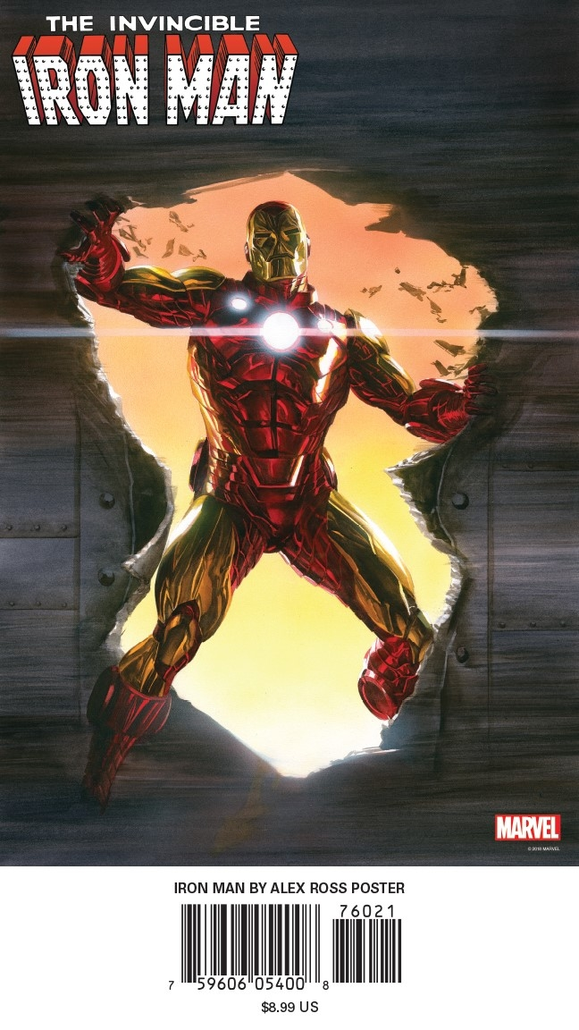 IRON MAN BY ALEX ROSS POSTER