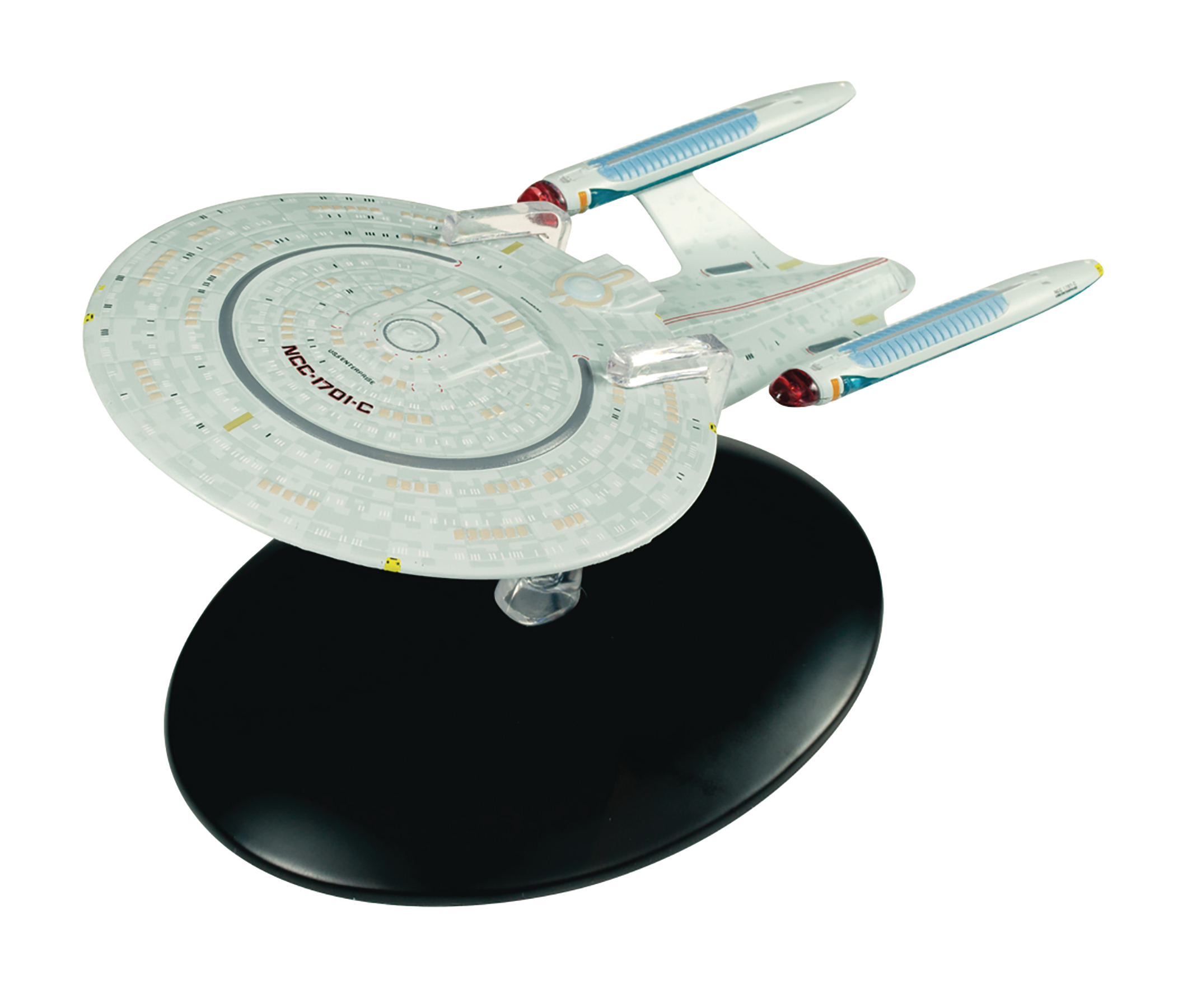 STAR TREK STARSHIPS FIG MAG BONUS #7 NCC-1701C PROBERT CONCE