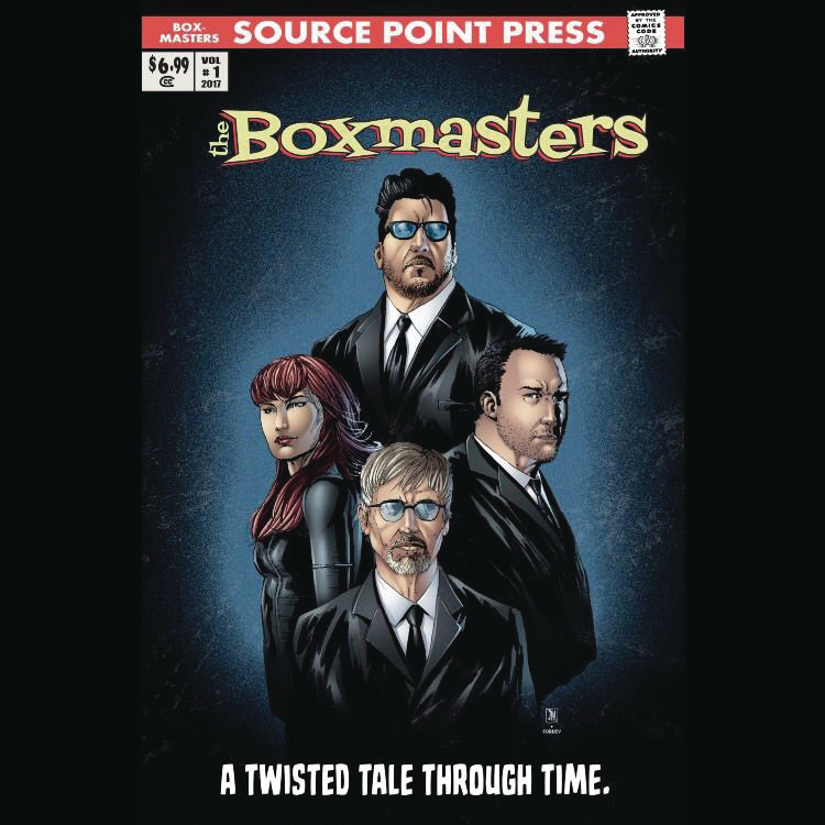 BOXMASTERS TWISTED TALE THROUGH TIME GN (MR)
