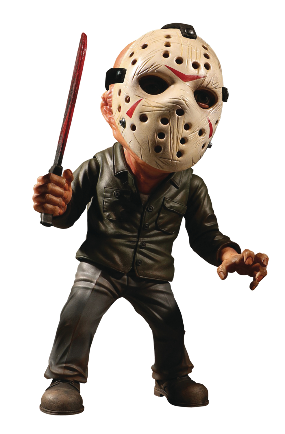 jan188059 - friday the 13th jason voorhees 6in deluxe stylized roto