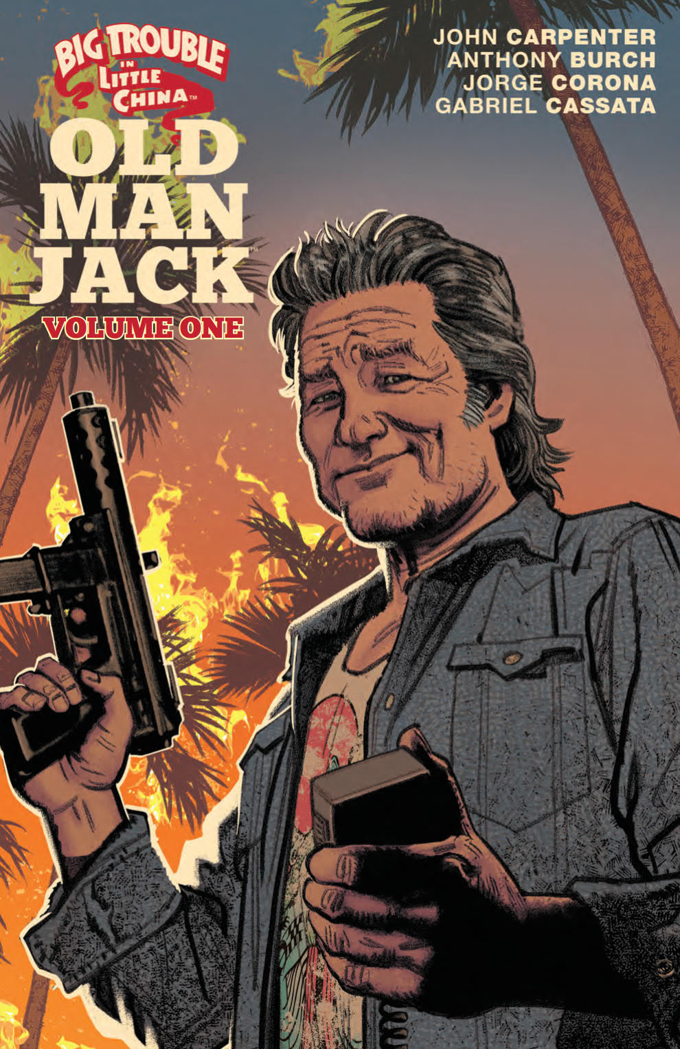 BIG TROUBLE IN LITTLE CHINA OLD MAN JACK TP VOL 01