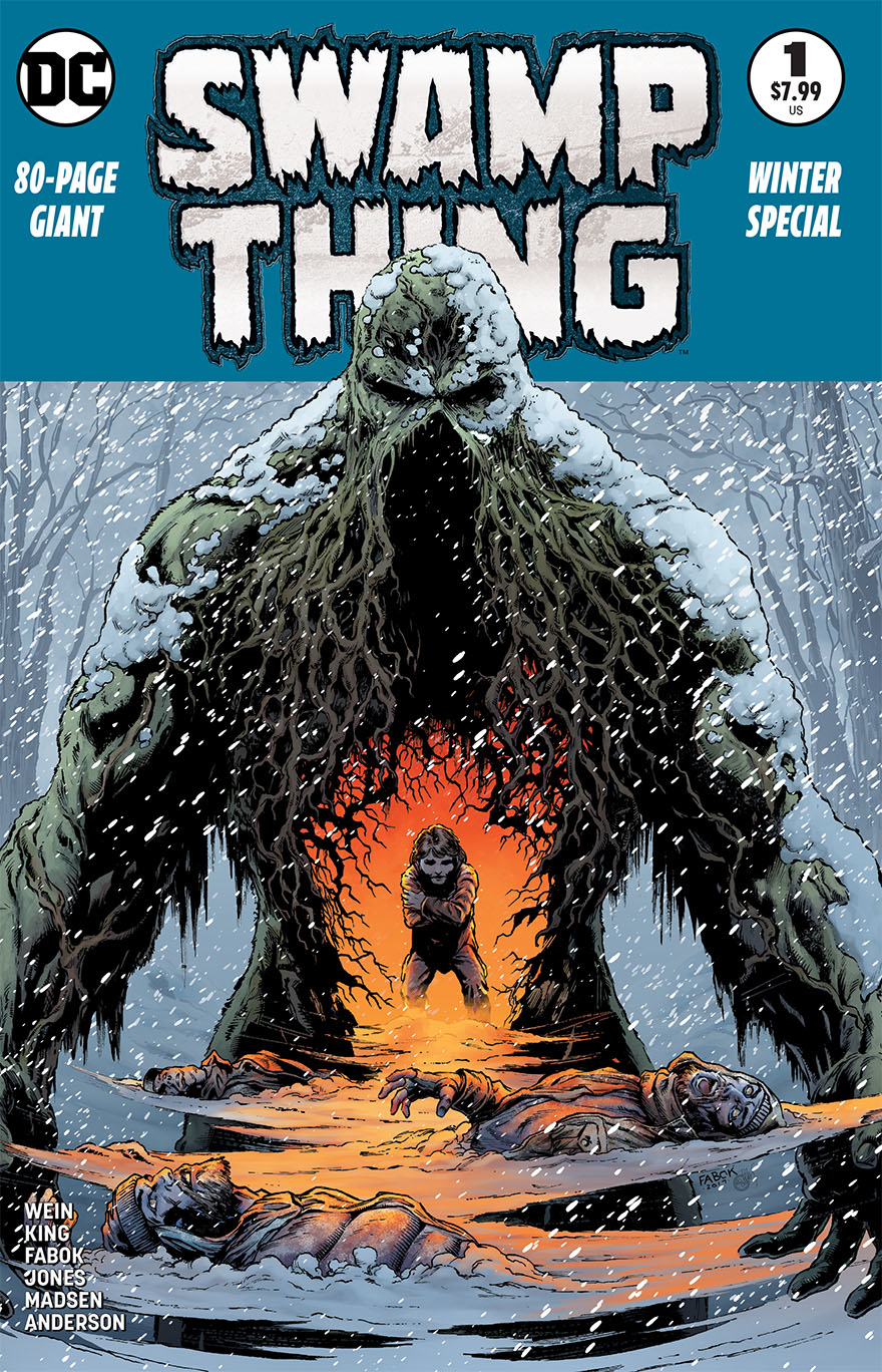 SWAMP THING WINTER SPECIAL #1 2ND PTG