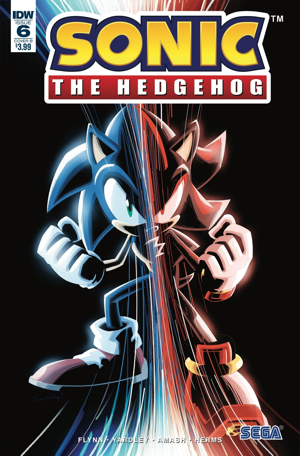 SONIC THE HEDGEHOG #6 CVR B GRAY