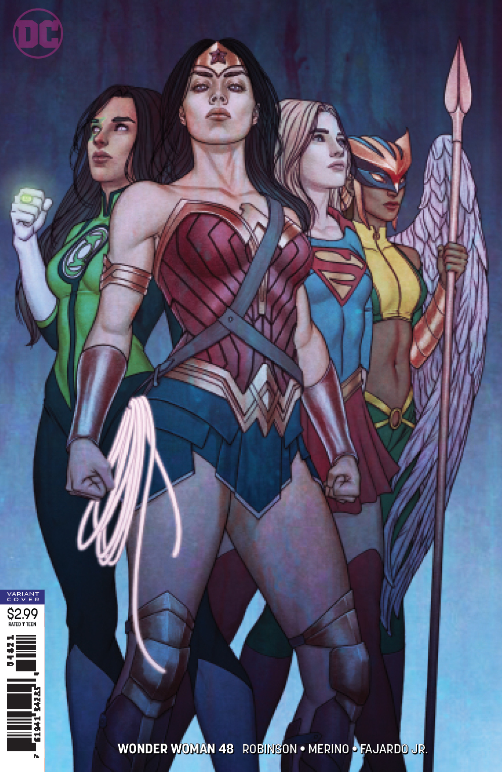 WONDER WOMAN #48 VAR ED