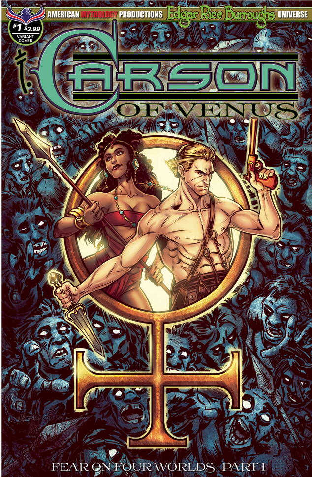 CARSON OF VENUS FEAR ON FOUR WORLDS #1 VISIONS OF VENUS CVR