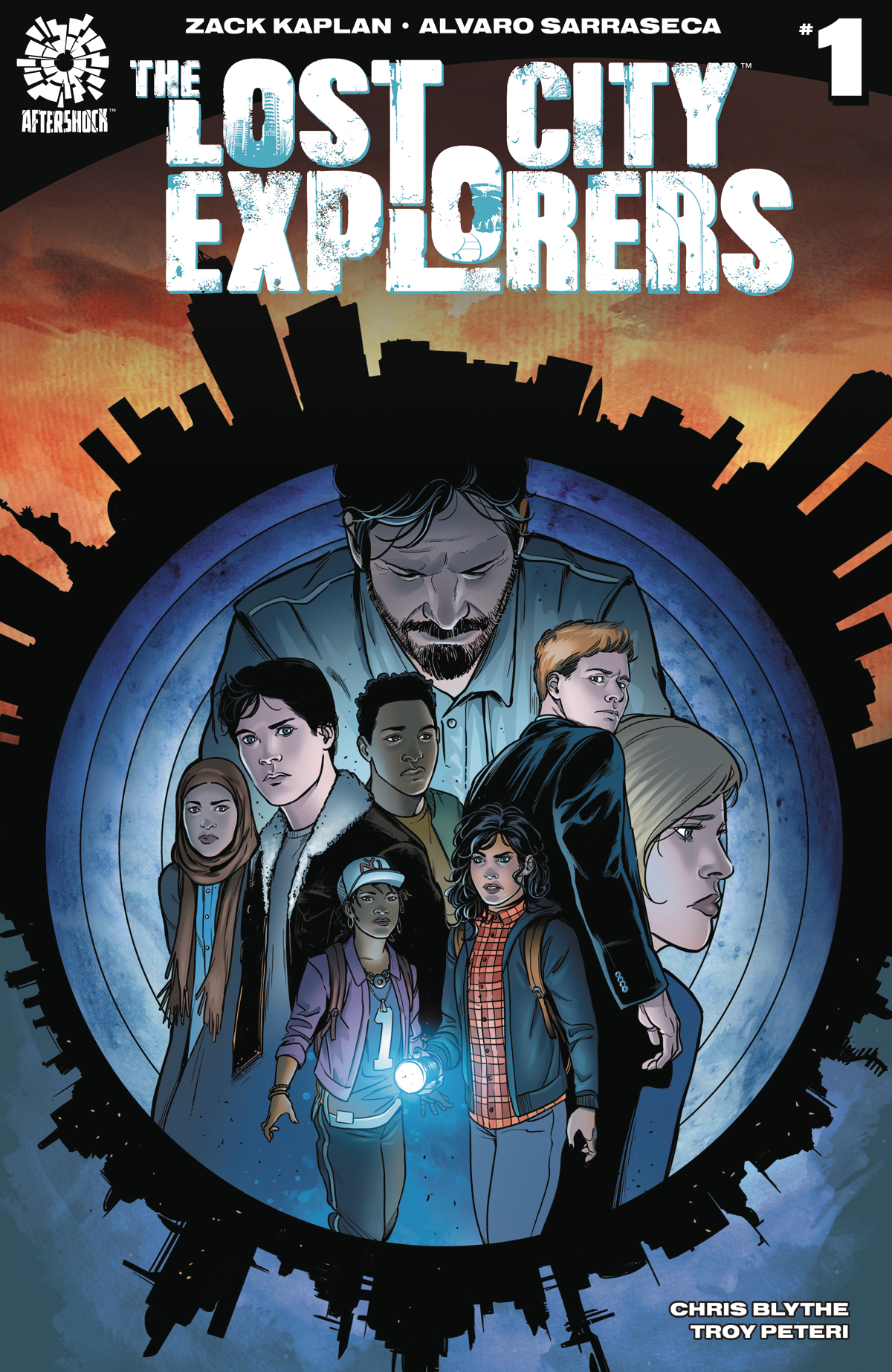 LOST CITY EXPLORERS #1 CVR B SARRASECA