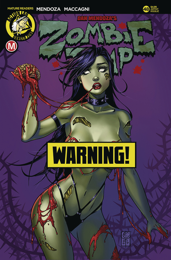ZOMBIE TRAMP ONGOING #48 CVR D TURNER RISQUE
