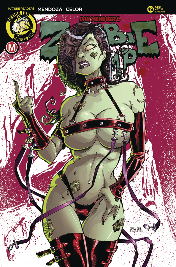ZOMBIE TRAMP ONGOING #49 CVR C WHITE (MR)