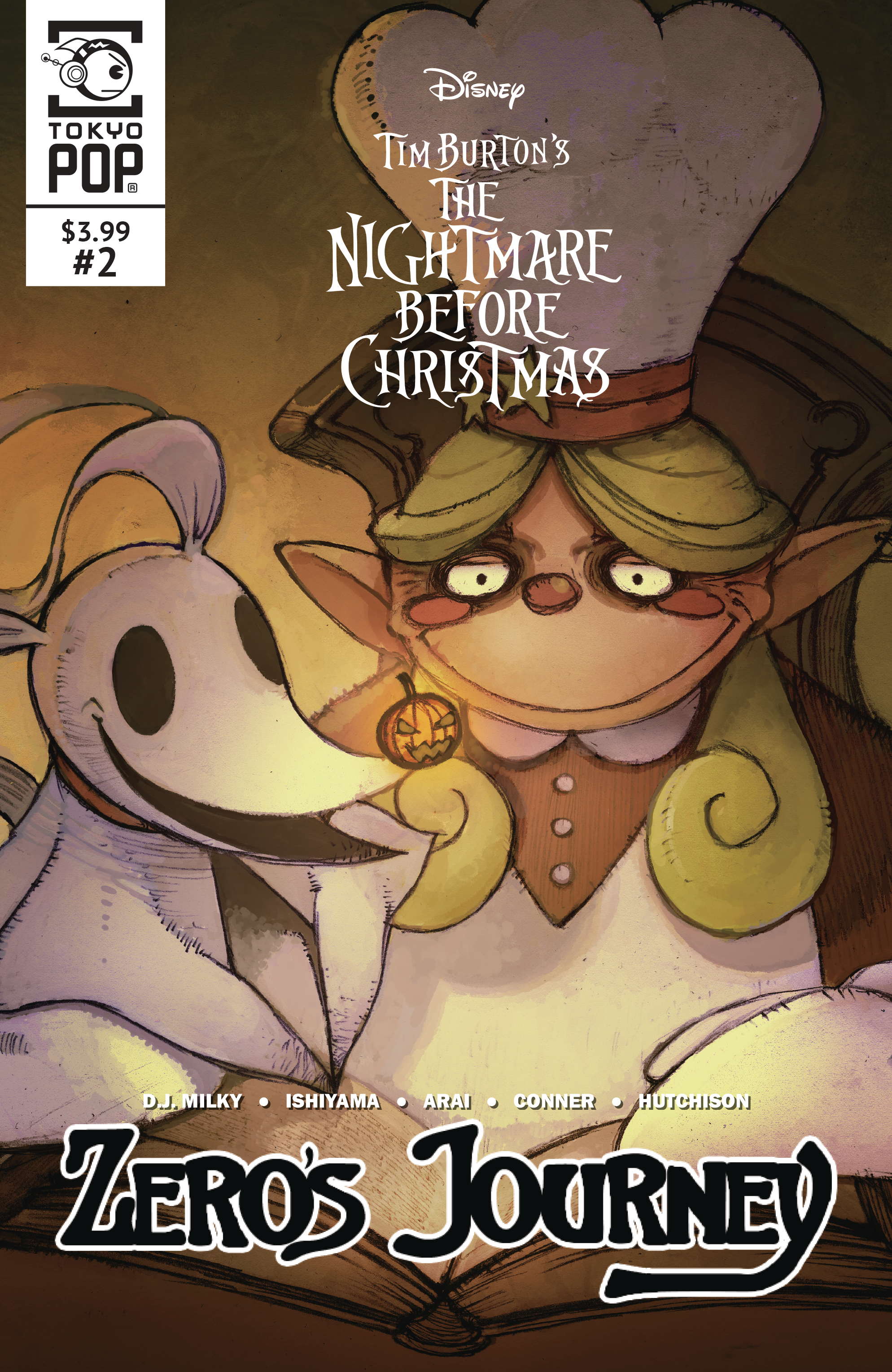 NIGHTMARE BEFORE CHRISTMAS ZEROS JOURNEY #2
