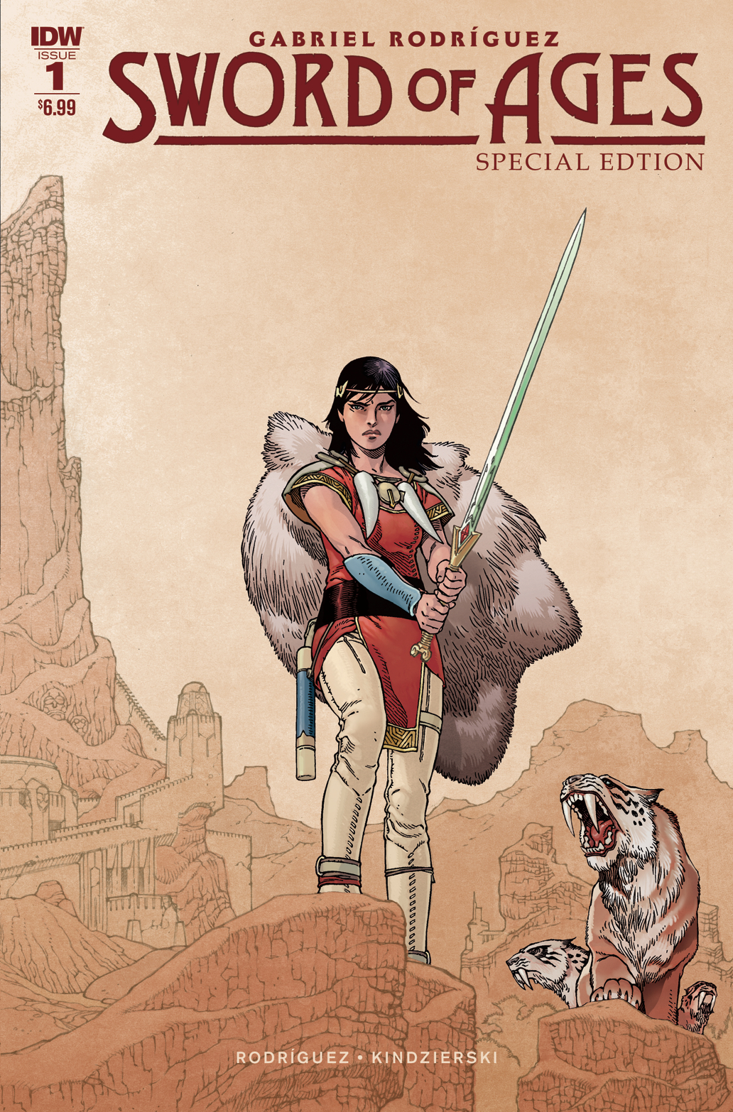 SWORD OF AGES SPECIAL EDITION #1 CVR A RODRIGUEZ