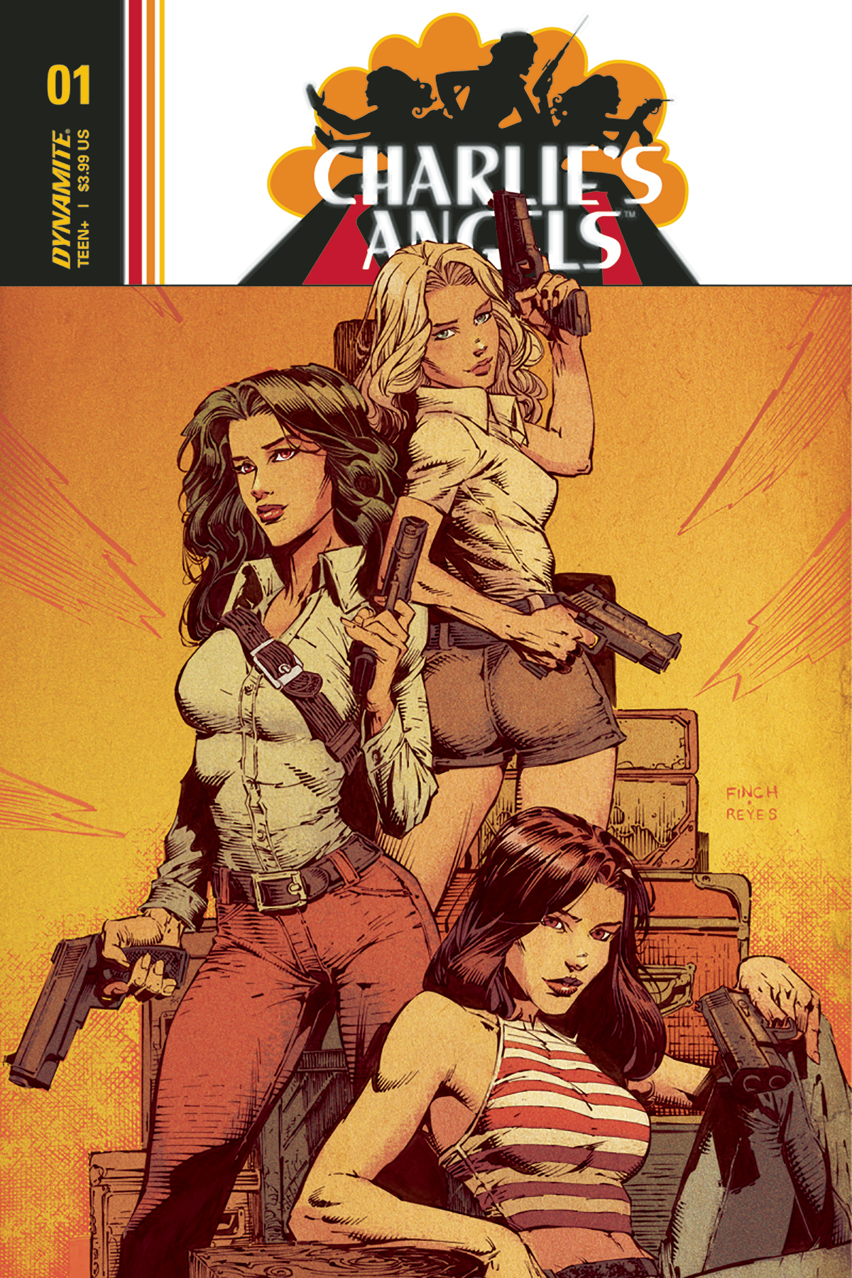 CHARLIES ANGELS #1 CVR A FINCH