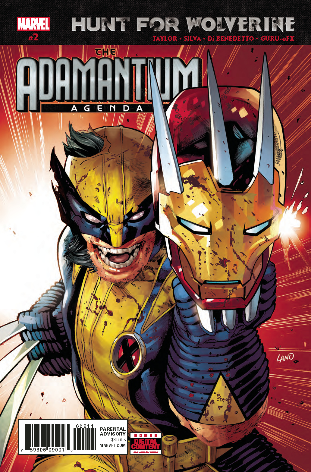 HUNT FOR WOLVERINE ADAMANTIUM AGENDA #2 (OF 4)