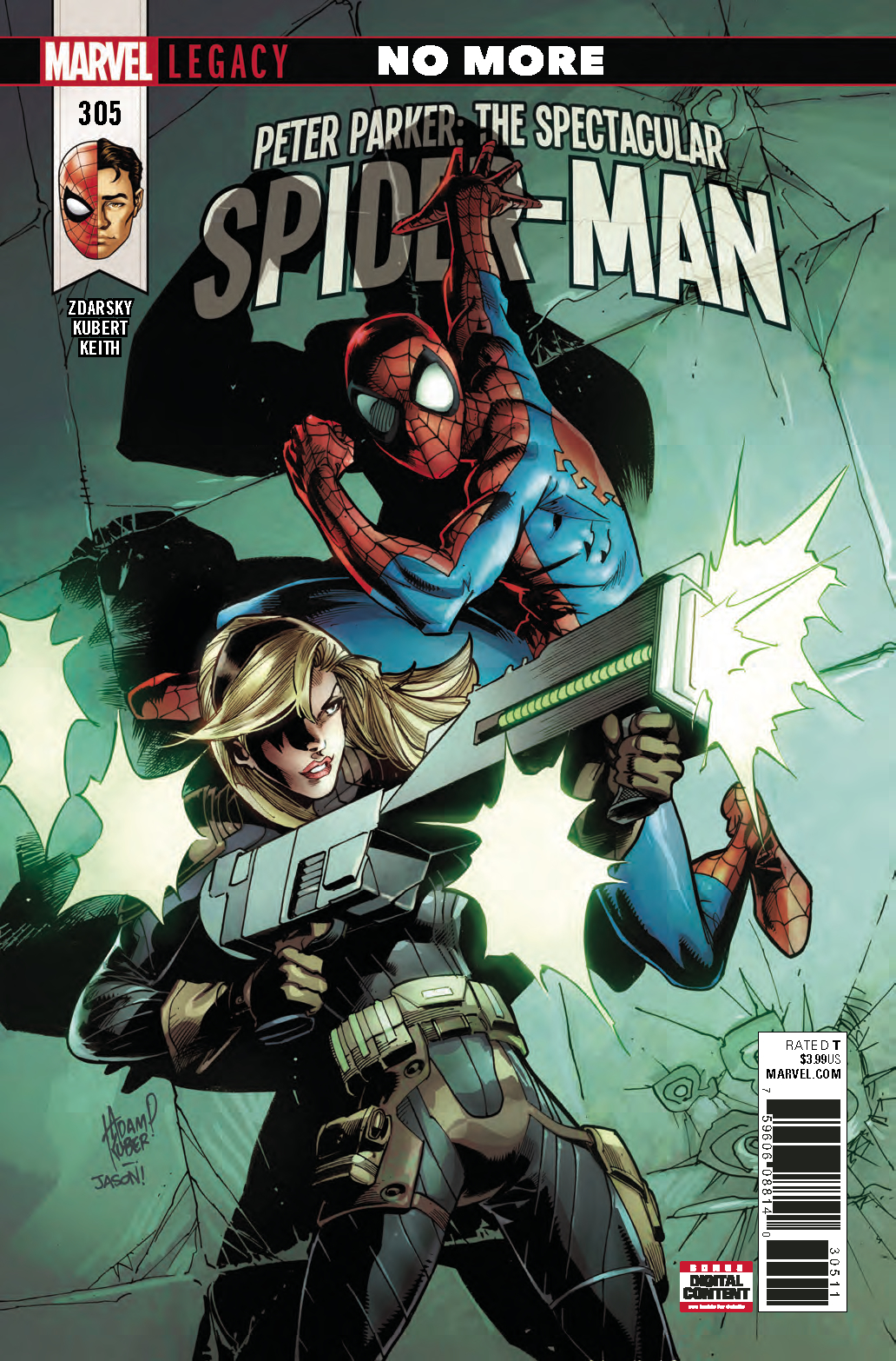 PETER PARKER SPECTACULAR SPIDER-MAN #305