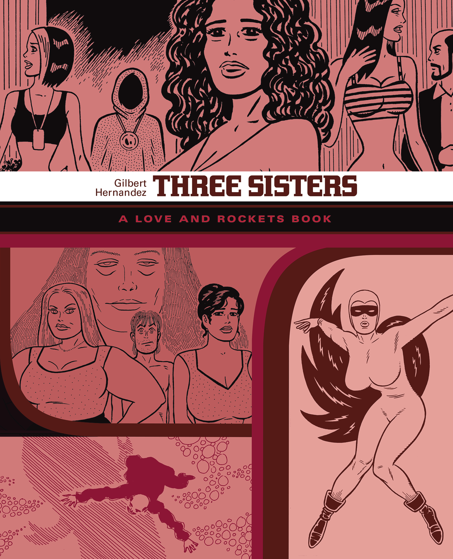 LOVE & ROCKETS LIBRARY GILBERT GN VOL 07 THREE SISTERS (MR)