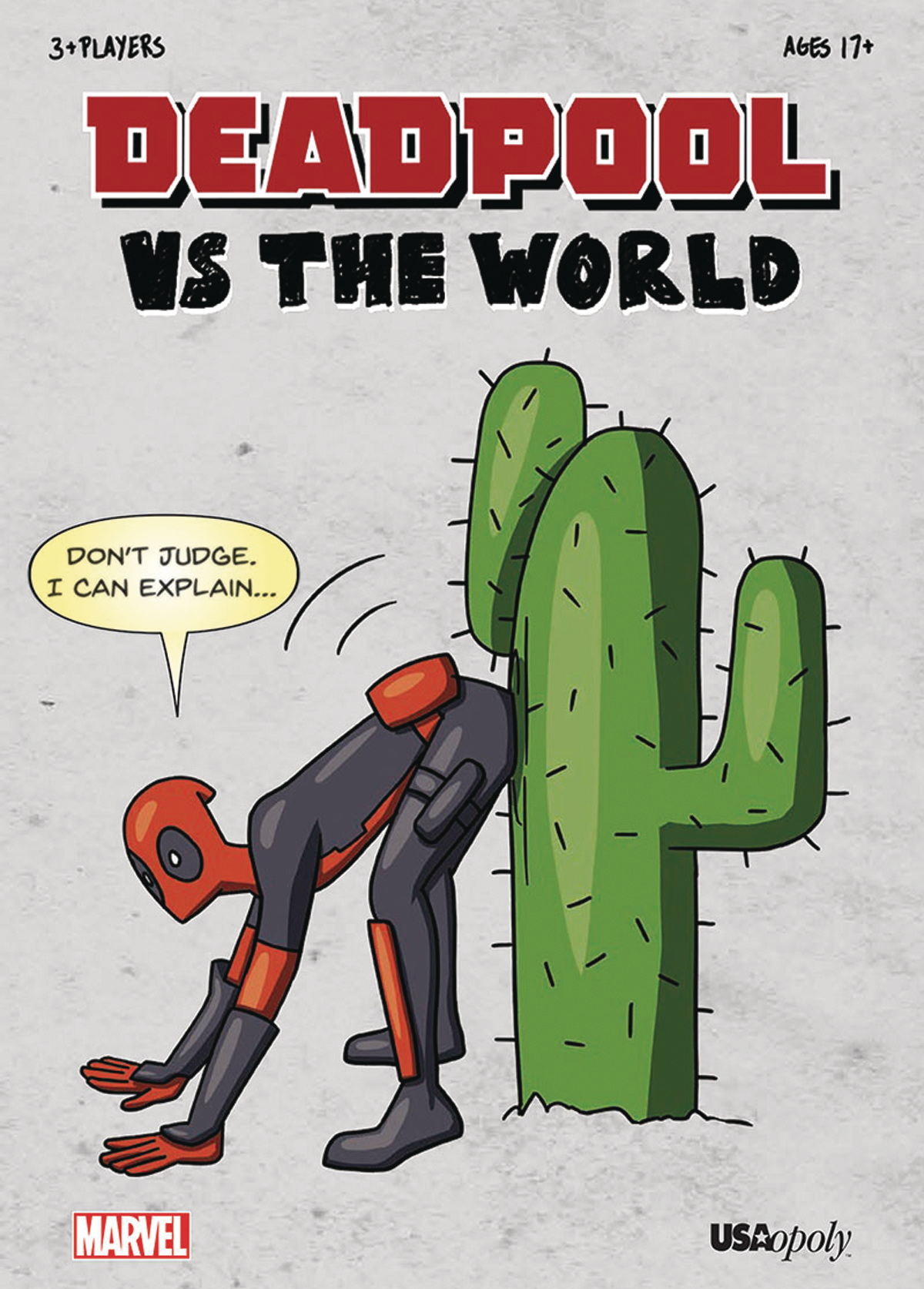 DEADPOOL VS WORLD PARTY GAME