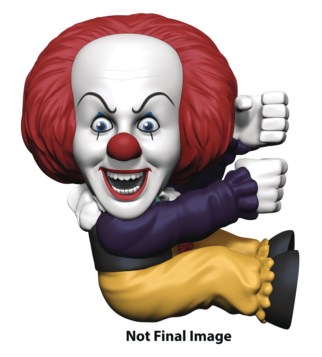 IT 1990 PENNYWISE SCALERS 2IN FIGURE ASST