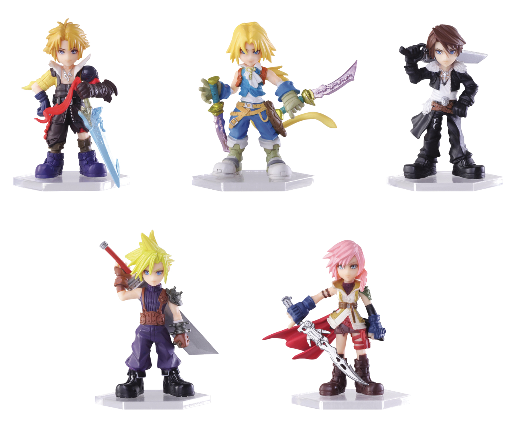 DISSIDIA FINAL FANTASY TRADING ARTS MINI FIG 10PC BMB DIS (O
