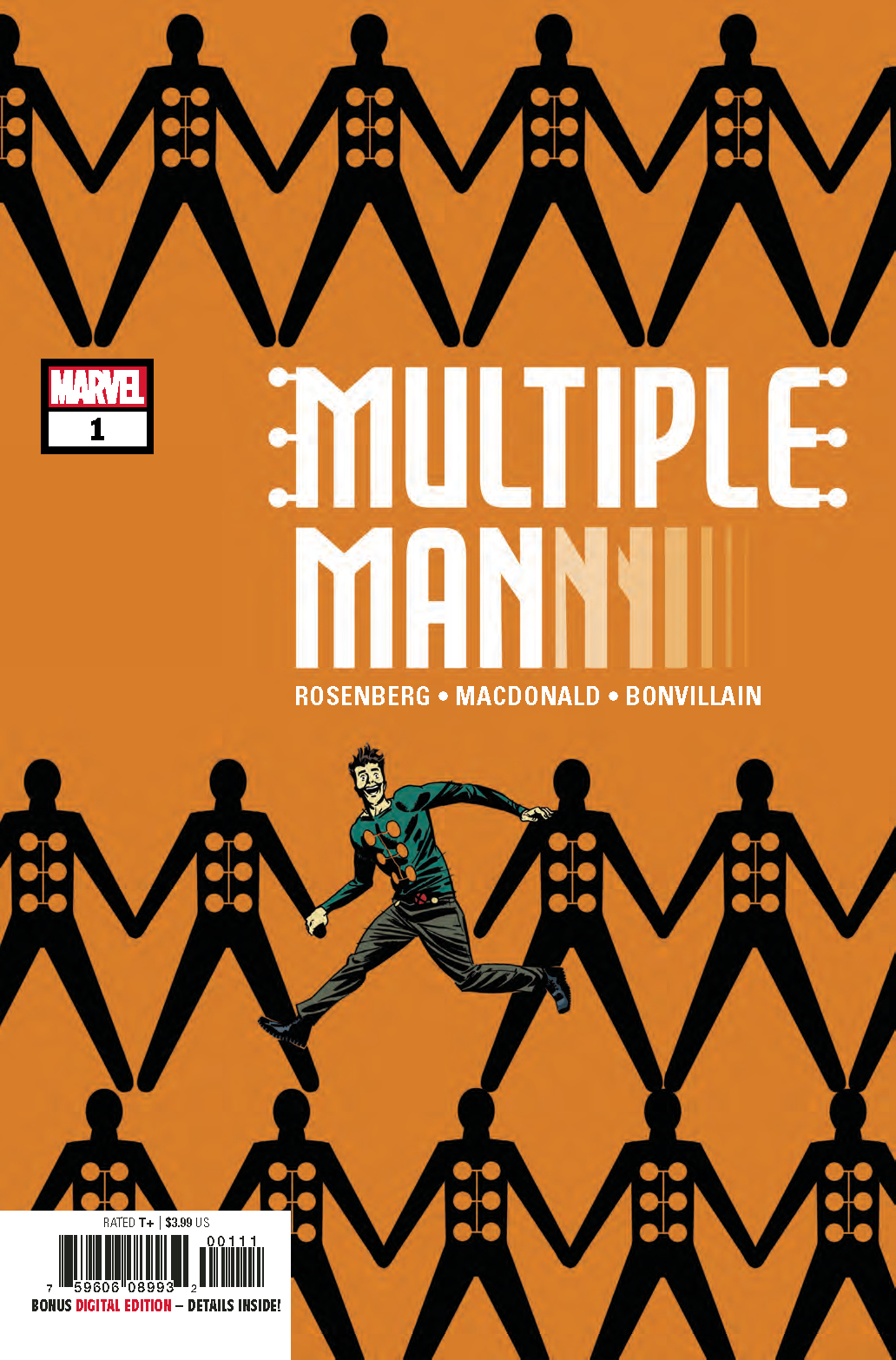 MULTIPLE MAN #1 (OF 5)