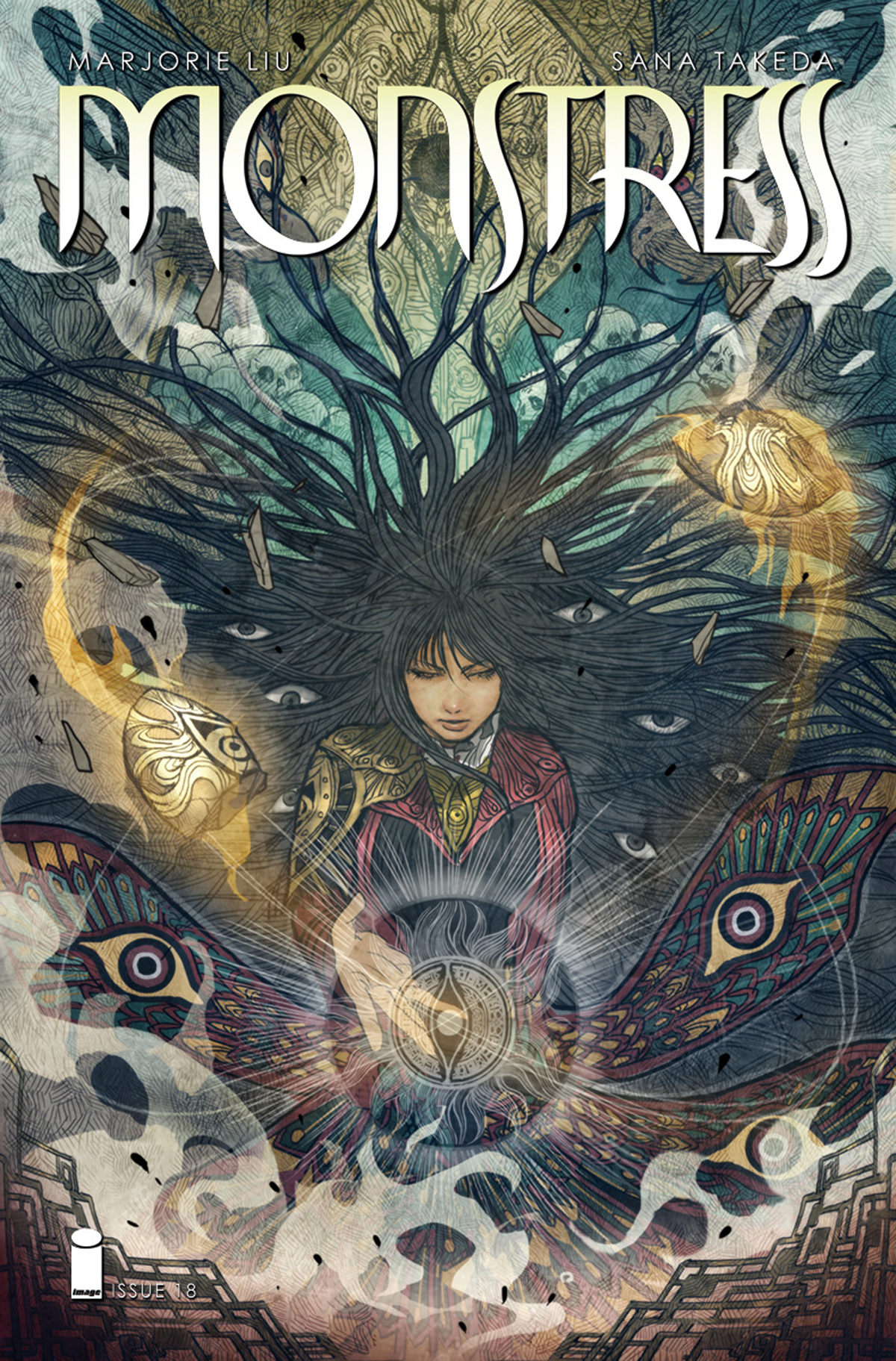 MONSTRESS #18 (MR)