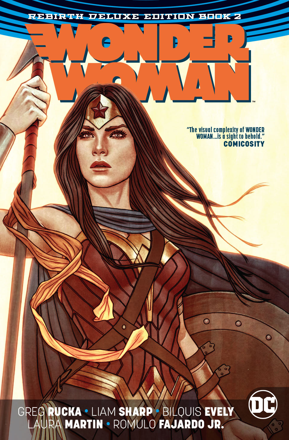 WONDER WOMAN REBIRTH DLX COLL HC BOOK 02