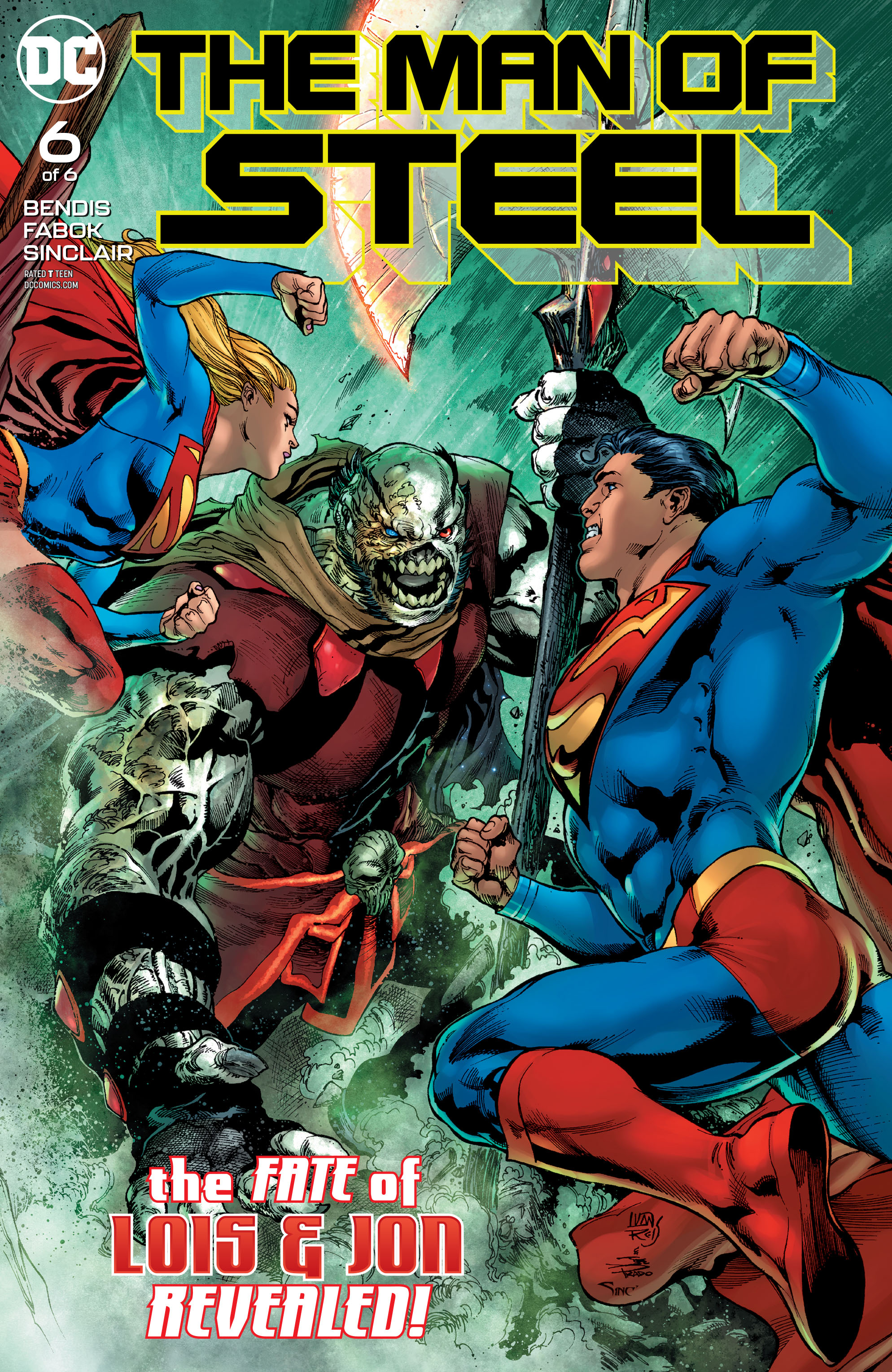 MAN OF STEEL #6 (OF 6)