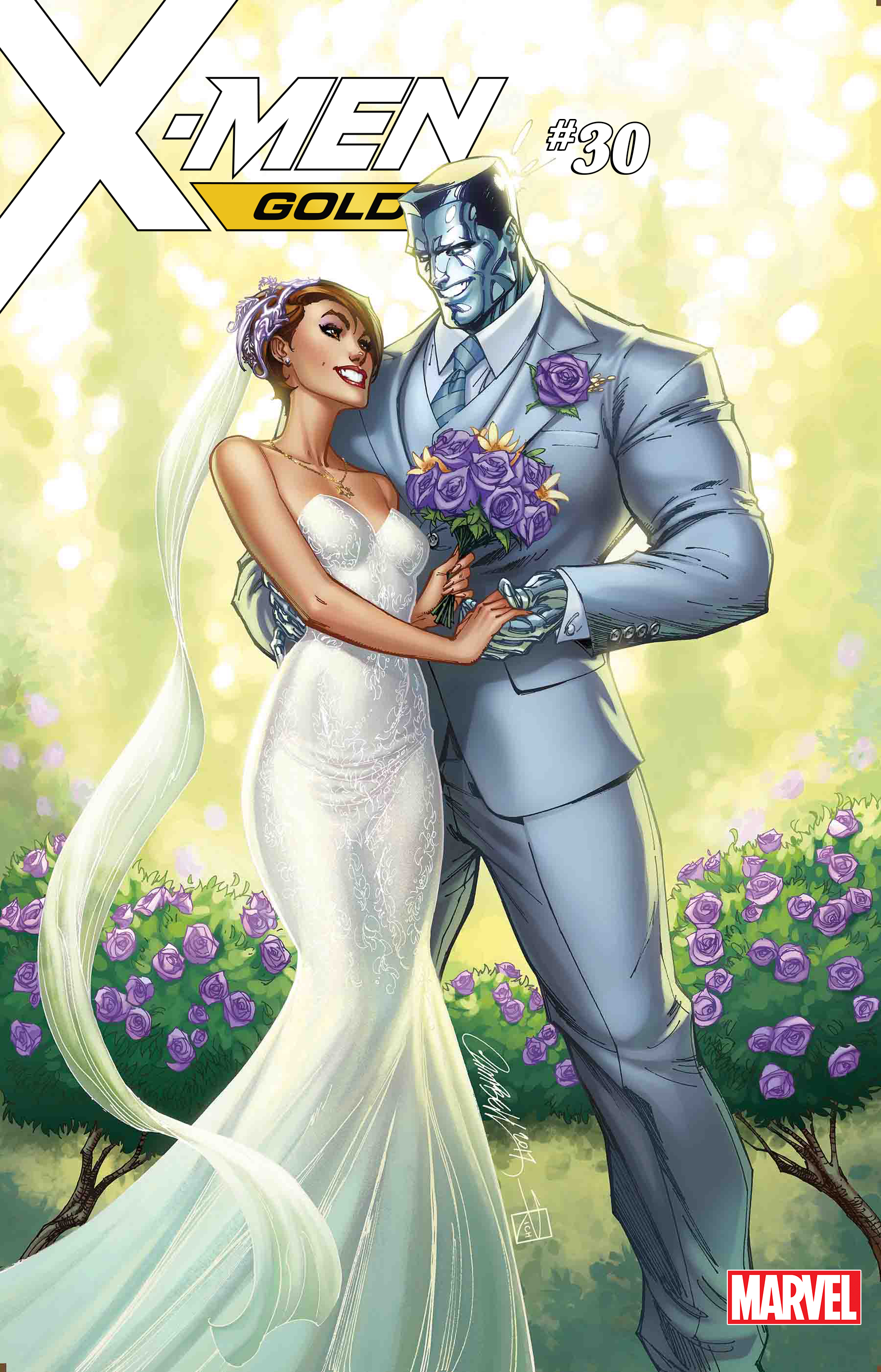 X-MEN GOLD #30 JSC KITTY & COLOSSUS VAR