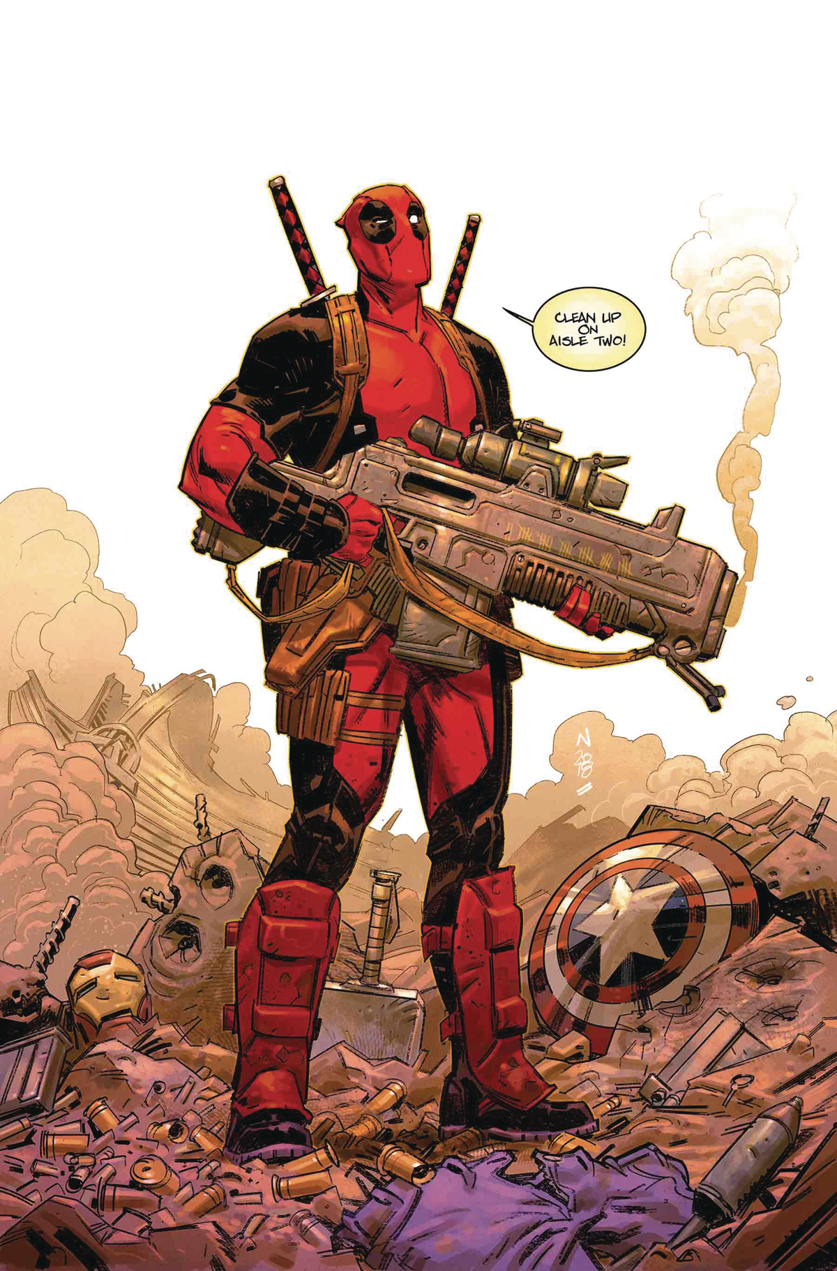 DEADPOOL #1 BY KLEIN POSTER