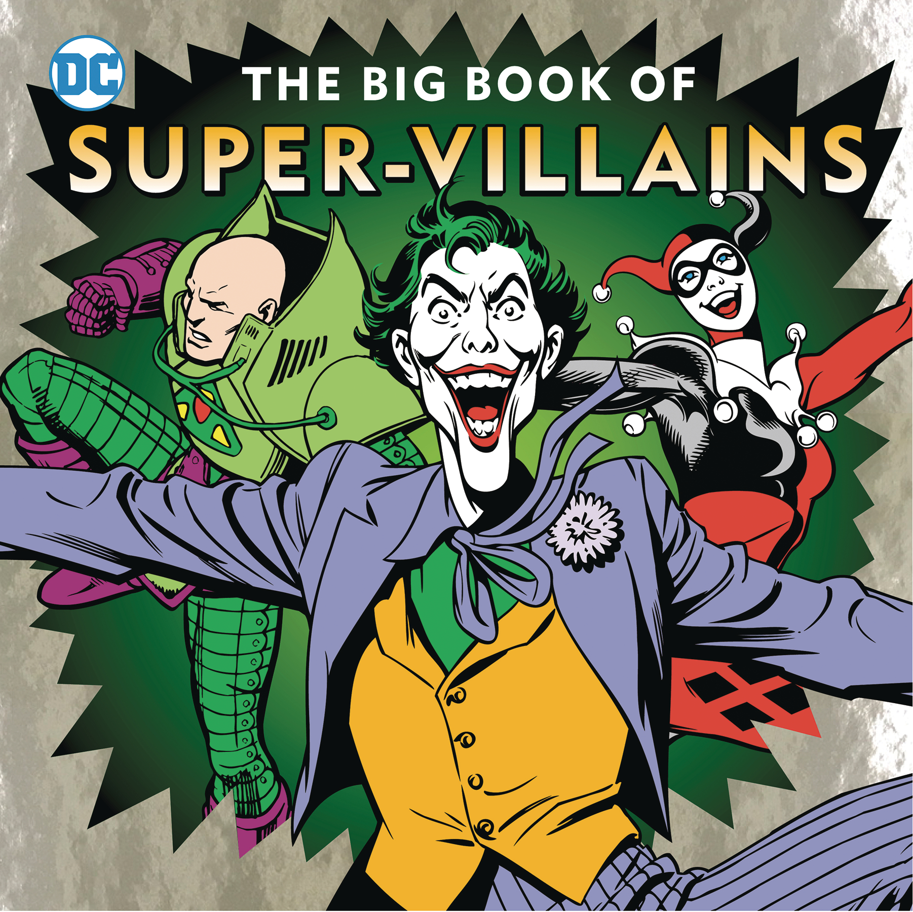 DC BIG BOOK OF SUPER VILLAINS HC
